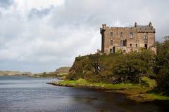 dunvegan slott Arkivfoto
