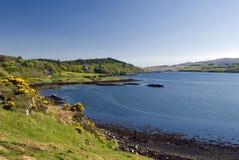 Dunveganloch, Eiland van Skye, Schotland Royalty-vrije Stock Foto's