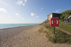 Dunwich beach royalty free stock image