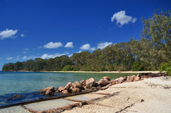 Dunwich Queensland Royaltyfri Foto