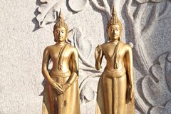 The duo buddha Stock Images
