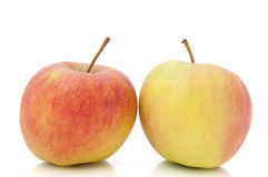 Duo de Apple Imagens de Stock Royalty Free