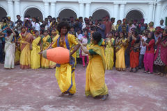 Duo de danse Photos libres de droits
