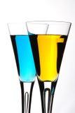 Duo do cocktail Fotos de Stock Royalty Free