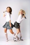 Duo musicale Fotografia Stock
