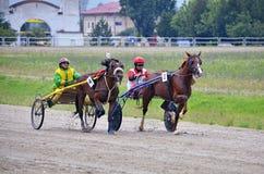 Duo race Royalty Free Stock Photo