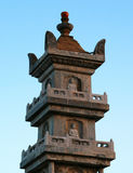 Duobao Pagoda, oldest remaining relics in the Mount Putuo Island Stock Photo