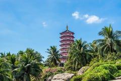 Duobao Stupa en Nanshan Fotos de archivo