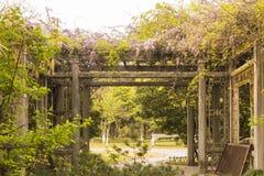 Duojing花园大门 图库摄影