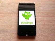 Duolingo στοκ εικόνες