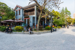 Duolun Road Hongkou District shanghai china Royalty Free Stock Images