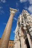 duoma siena собора Стоковое фото RF