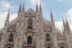 Duomo à Milan Photo libre de droits