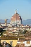 Duomo - θόλος καθεδρικών ναών Brunelleschi ` s στη Φλωρεντία Στοκ φωτογραφίες με δικαίωμα ελεύθερης χρήσης