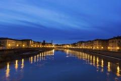 duomo Ιταλία έλξης που κλίνει τον πύργο τουριστών της Πίζας Στοκ Εικόνα