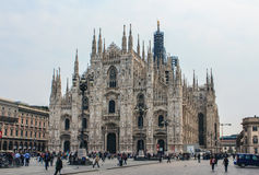 Duomo, Μιλάνο Στοκ φωτογραφίες με δικαίωμα ελεύθερης χρήσης
