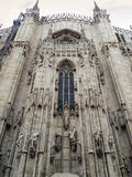 Duomo της εκκλησίας του Μιλάνου Στοκ φωτογραφίες με δικαίωμα ελεύθερης χρήσης