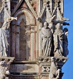 Duomo της Σιένα Τοσκάνη Ιταλία Στοκ φωτογραφία με δικαίωμα ελεύθερης χρήσης