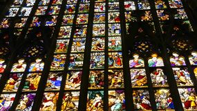 Duomo του Μιλάνου, στην Ιταλία Στοκ φωτογραφία με δικαίωμα ελεύθερης χρήσης