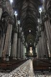 Duomo του Μιλάνου, στην Ιταλία Στοκ Εικόνα