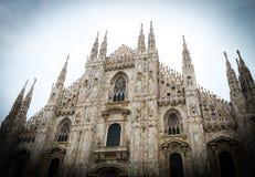 Duomo του Μιλάνου Στοκ φωτογραφίες με δικαίωμα ελεύθερης χρήσης