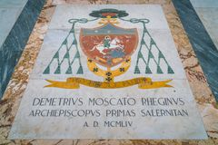 Duomo του Σαλέρνο, Campania, Ιταλία Στοκ φωτογραφίες με δικαίωμα ελεύθερης χρήσης