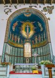 Duomo του Σαλέρνο, Campania, Ιταλία Στοκ εικόνα με δικαίωμα ελεύθερης χρήσης