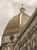 duomo Φλωρεντία Ιταλία θόλων μ&omi Στοκ εικόνες με δικαίωμα ελεύθερης χρήσης
