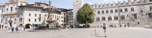 Duomo аркады Trento Стоковая Фотография RF