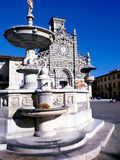 Duomo аркады собора Prato старый Стоковые Фотографии RF