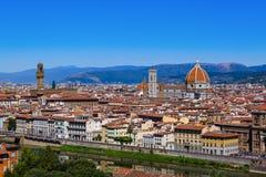 Duomo во Флоренс - Италии стоковые изображения rf