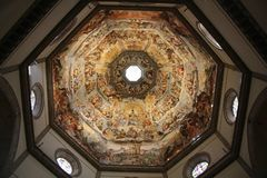 Duomo в базилике Santa Maria del Fiore, Флоренсе Стоковые Изображения