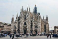 Duomo, милан Стоковые Фотографии RF