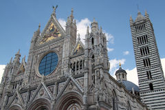 Duomo #1 Сиены Стоковая Фотография
