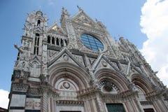 Duomo #4 Сиены Стоковые Изображения