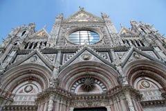 Duomo #6 Сиены Стоковое фото RF