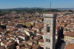 Duomo Флоренса изумительн del базилики детализировало наземный ориентир maria florence fiore di экстерьера известный большинств н стоковая фотография