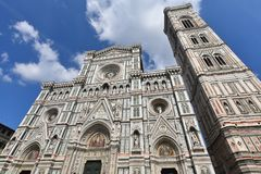 Duomo Флоренса, Флоренс, Италия стоковое изображение