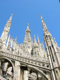 Duomo. The Duomo (Cathedral), Milan Italy Stock Images