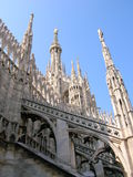Duomo. The Duomo (Cathedral), Milan Italy stock photos