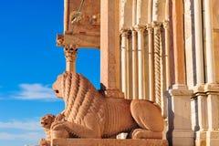 Duomo Ancona Italie Images libres de droits