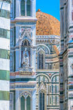 Duomo architecture details in Florence. Royalty Free Stock Photography