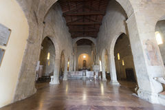 Duomo av Barga Arkivbild