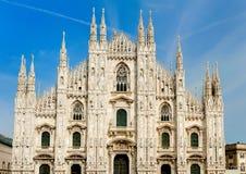 Duomo av Milan Royaltyfri Bild