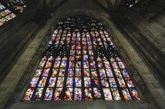 Duomo av Milan, i Italien Royaltyfria Foton