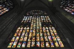 Duomo av Milan, i Italien Fotografering för Bildbyråer