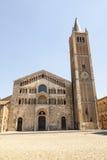 Duomo av Parma Fotografering för Bildbyråer