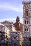 Duomo and Baptistery in Florence Italy royalty free stock image