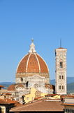 Duomo and Baptistry Stock Image