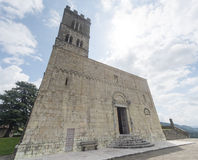 Duomo of Barga Royalty Free Stock Photo